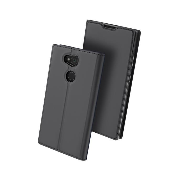 Slim Wallet Case für Sony Xperia L2 Magnet Hülle mit Standfunktion