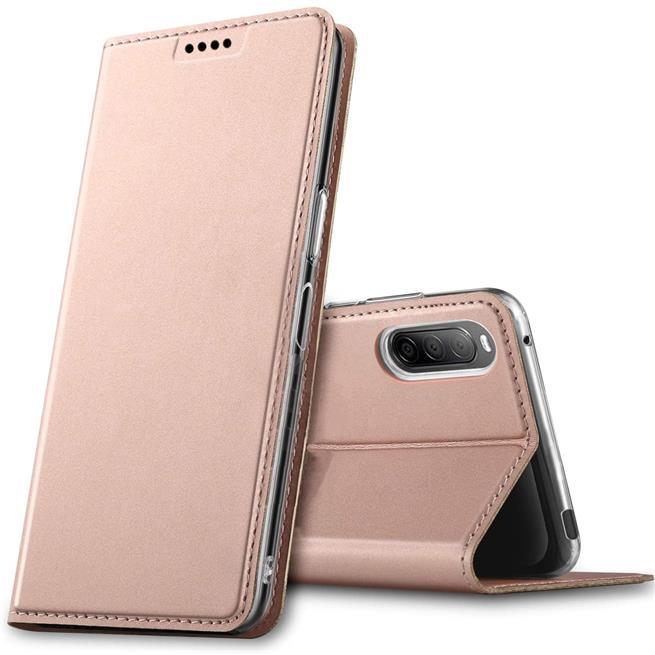 Magnet Case für Sony Xperia L4 Hülle Schutzhülle Handy Cover Slim Klapphülle