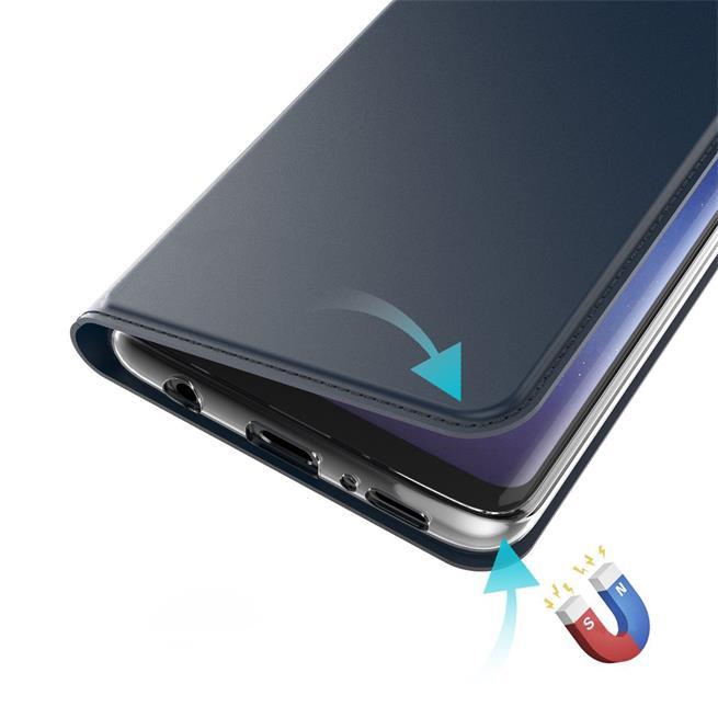 Slim Flip Cover für Sony Xperia XA1 Hülle Tasche Magnet in der Klapphülle in Blau