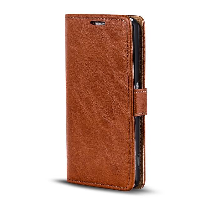 Retro Tasche für Sony Xperia Z5 Compact Hülle Wallet Case Handyhülle Vintage Slim Cover