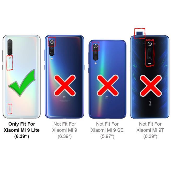 Handy Tasche für Xiaomi Mi 9 Lite Hülle Wallet Jeans Case Schutzhülle