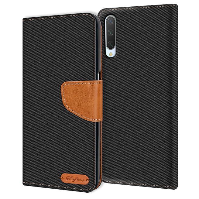 Handy Tasche für Xiaomi Mi A3 Hülle Wallet Jeans Case Schutzhülle
