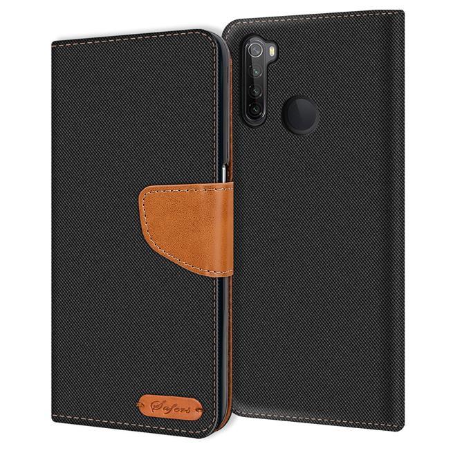 Handy Tasche für Xiaomi Redmi Note 8 Hülle Wallet Jeans Case Schutzhülle