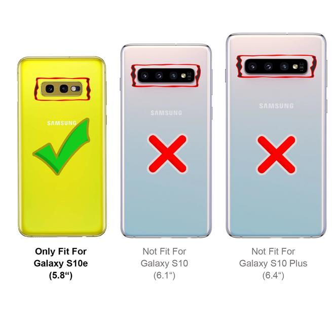 Handykette + Hülle für Samsung Galaxy S10e Schutzhülle mit Band Kordel Schnur Case zum umhängen