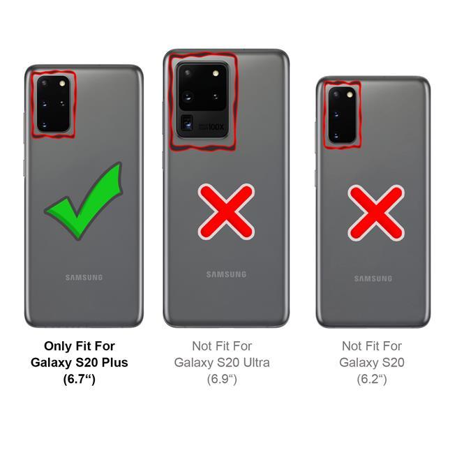 Handykette + Hülle für Samung Galaxy S20+ Schutzhülle mit Band Kordel Schnur Case zum umhängen