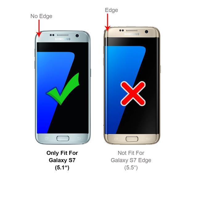 Handykette + Hülle für Samsung Galaxy S7 Schutzhülle mit Band Kordel Schnur Case zum umhängen