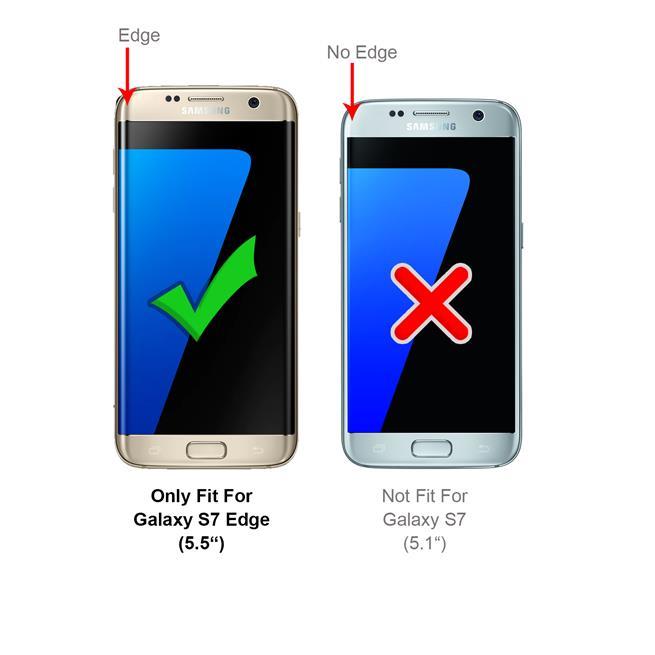 Handykette + Hülle für Samsung Galaxy S7 Edge Schutzhülle mit Band Kordel Schnur Case zum umhängen