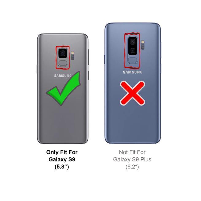 Handykette + Hülle für Samsung Galaxy S9 Schutzhülle mit Band Kordel Schnur Case zum umhängen