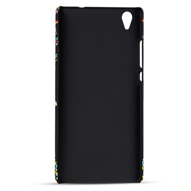 Azteken Design Hard Case für Sony Xperia M4 Aqua Hülle - Schutzhülle mit Waterprint Muster