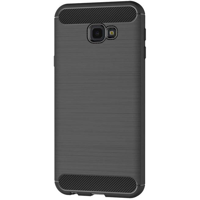 Handy Hülle für Samsung Galaxy J4 Plus Backcover Case im Carbon Design