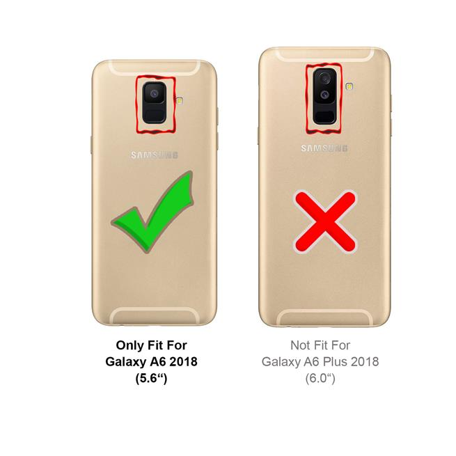 Classic Hardcase für Samsung Galaxy A6 Plus Backcover Schutz Hülle