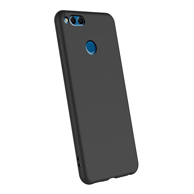 Matte Silikon Hülle für Honor 7x Backcover Handy Schutz Case