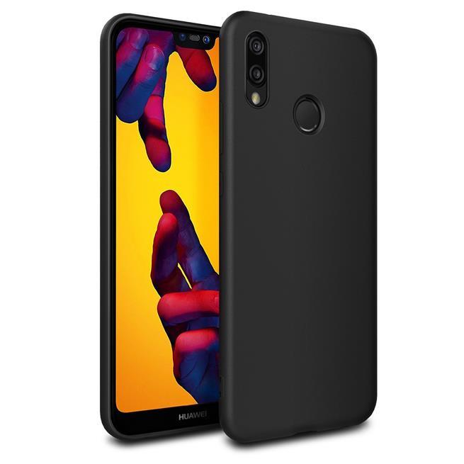 Matte Silikon Hülle für Huawei P20 Lite Backcover Handy Case
