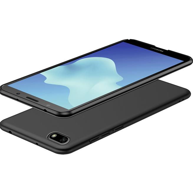 Matte Silikon Hülle für Huawei Y5 2018 Backcover Handy Case