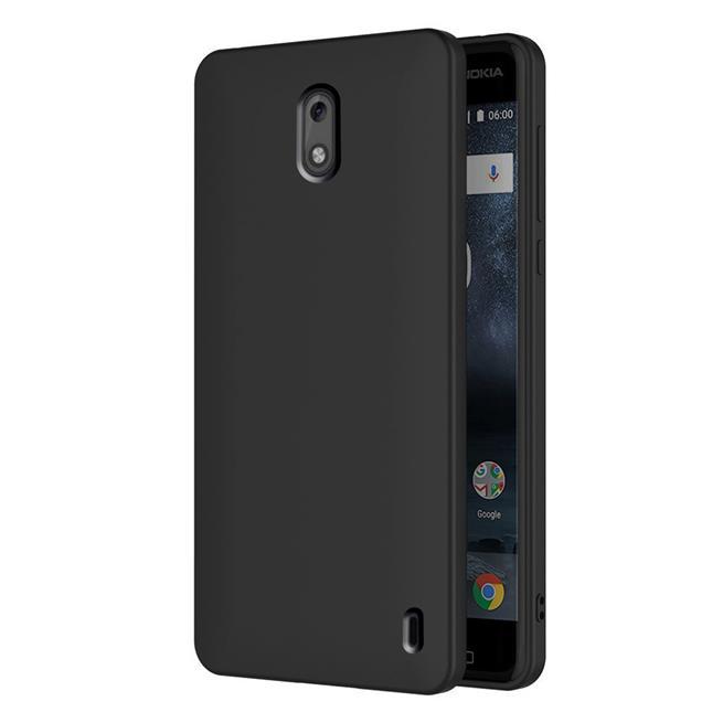 Matte Silikon Hülle für Nokia 2 Backcover Handy Schutz Case