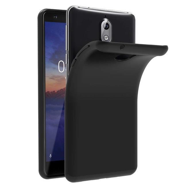 Matte Silikon Hülle für Nokia 3.1 2018 Backcover Handy Case