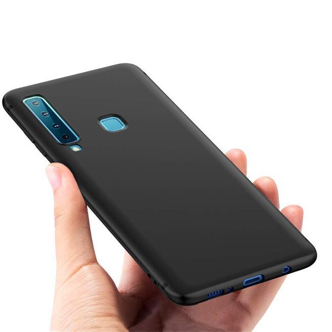 Matte Silikon Hülle für Samsung Galaxy A9 2018 Backcover Handy Case