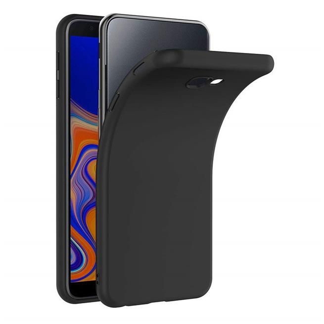 Matte Silikon Hülle für Samsung Galaxy J4 Plus Backcover Handy Case