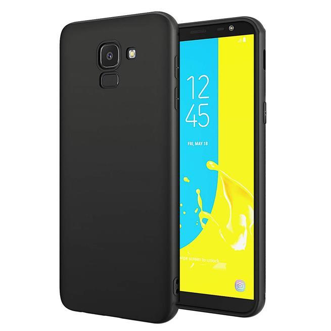 Matte Silikon Hülle für Samsung Galaxy J6 2018 Backcover Handy Case
