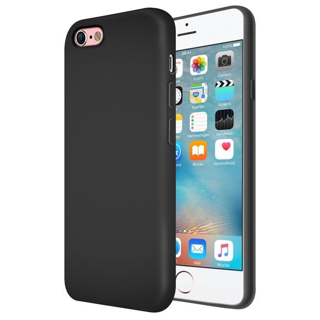 Handy Hülle für Apple iPhone 6 Plus / 6s Plus Soft Case mit innenliegendem Stoffbezug