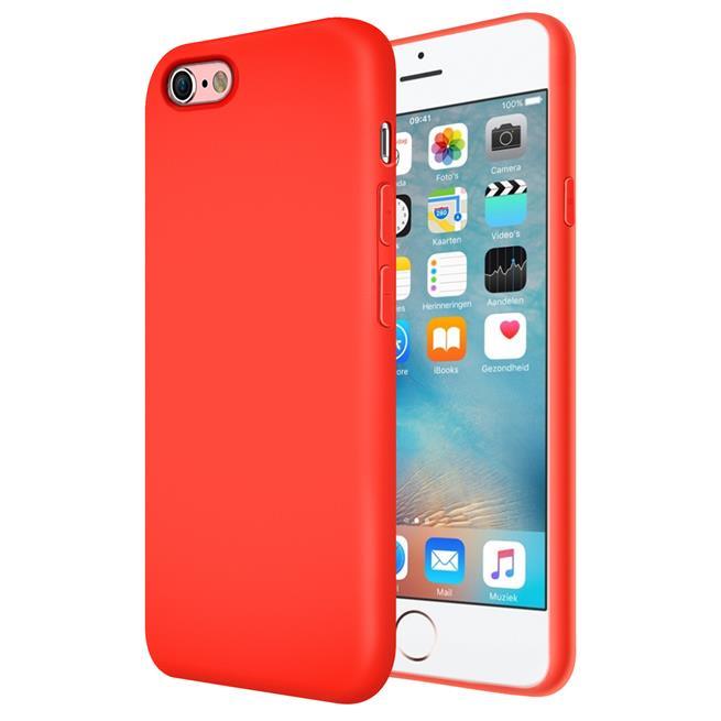 Handy Hülle für Apple iPhone 6 / 6s Soft Case mit innenliegendem Stoffbezug