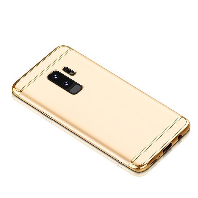 Glamour Hardcase für Samsung Galaxy S9 Hülle [robust] Schutz Cover Tasche in Gold