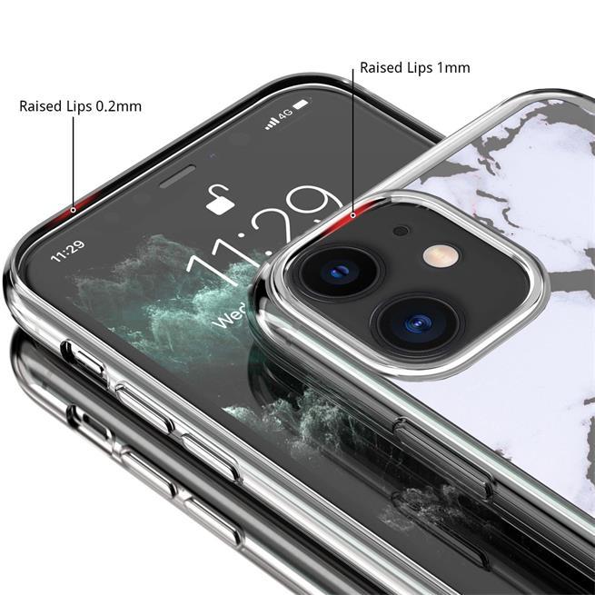 Handy Hülle für Apple iPhone 11 Case Silikon Muster Cover Schutzhülle
