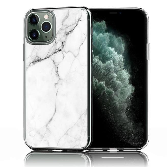 Handy Hülle für Apple iPhone 11 Pro Max Case Silikon Muster Cover Schutzhülle