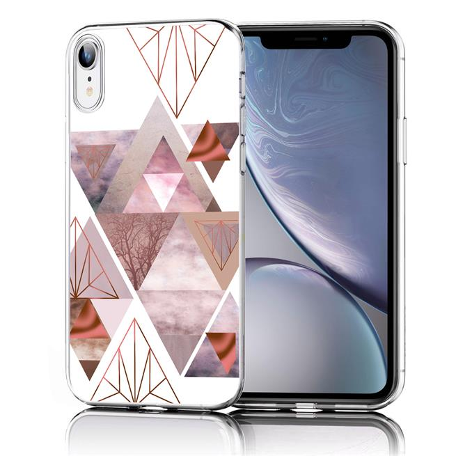 Motiv TPU Cover für Apple iPhone XR Hülle Silikon Case mit Muster Handy Schutzhülle