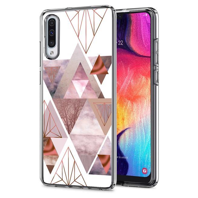 Motiv TPU Cover für Samsung Galaxy A50 / A30s Hülle Silikon Case mit Muster Handy Schutzhülle