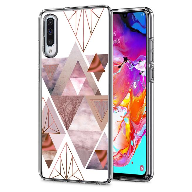 Motiv TPU Cover für Samsung Galaxy A70 / A70s Hülle Silikon Case mit Muster Handy Schutzhülle