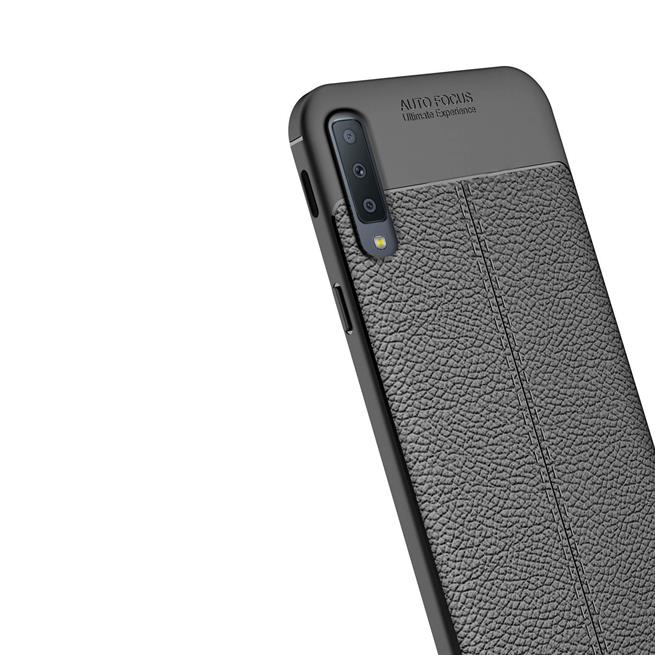 Schutz Hülle für Samsung Galaxy A9 2018 Backcover Handy Case Leder Optik