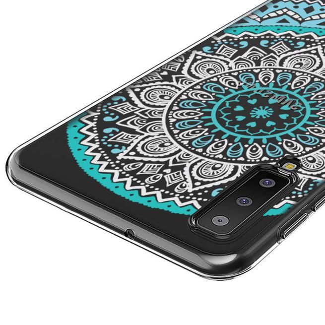 Henna Motiv Hülle für Samsung Galaxy A7 2018 Backcover Handy Case