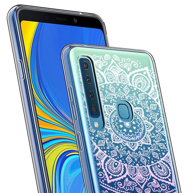 Henna Motiv Hülle für Samsung Galaxy A9 2018 Backcover Handy Case