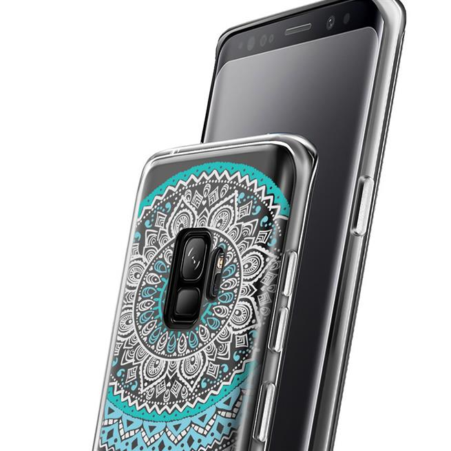 Henna Motiv Hülle für Samsung Galaxy J6 Plus Backcover Handy Case