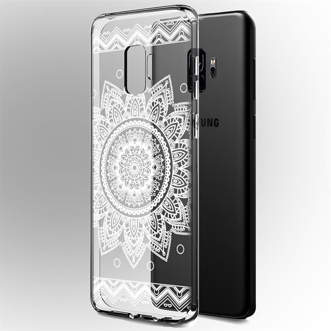 Henna Motiv Hülle für Samsung Galaxy J6 Plus Backcover Handy Case