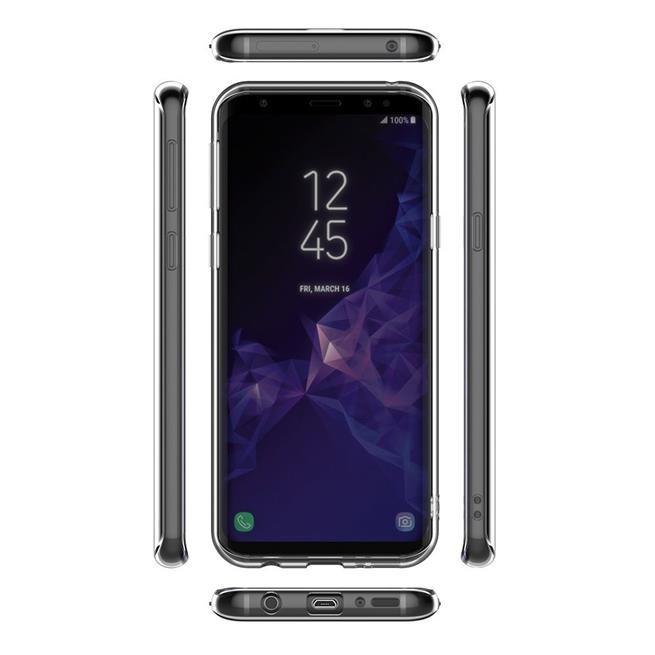 Henna Crystal Motiv Hülle für Samsung Galaxy S9 Backcover Handy Case