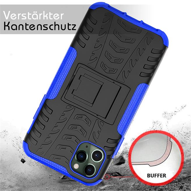 Outdoor Hülle für Apple iPhone 11 Pro Max Case Hybrid Armor Cover robuste Schutzhülle