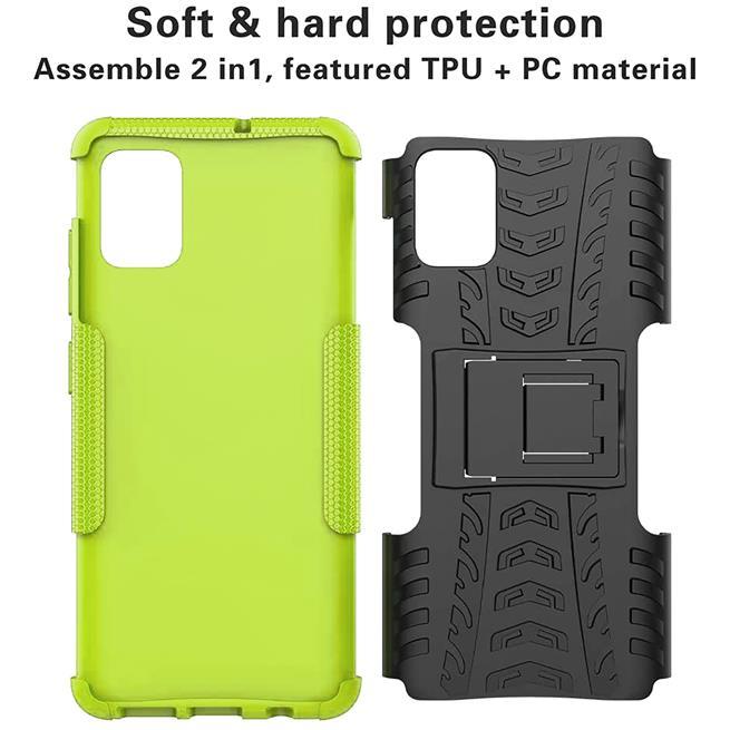 Outdoor Hülle für Samsung Galaxy A51 Case Hybrid Armor Cover robuste Schutzhülle