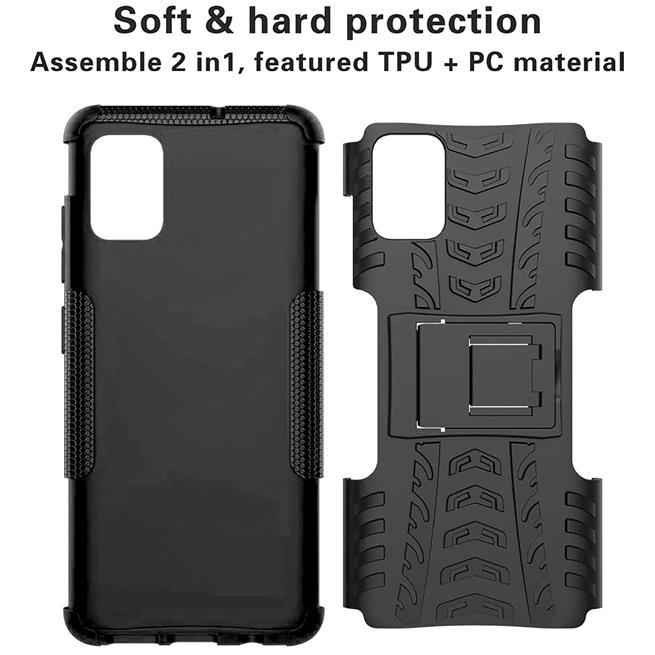 Outdoor Hülle für Samsung Galaxy S10 Lite Case Hybrid Armor Cover robuste Schutzhülle