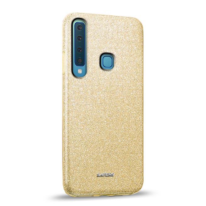 Glitzer Silikon Schutz Hülle für Samsung Galaxy A9 2018 Handy Case