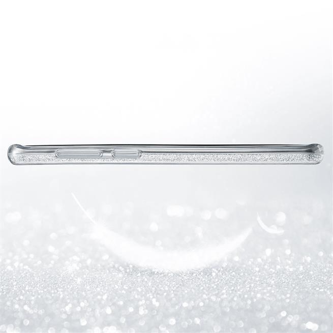Glitzer Silikon Schutz Hülle für Samsung Galaxy A6 Plus Handy Case