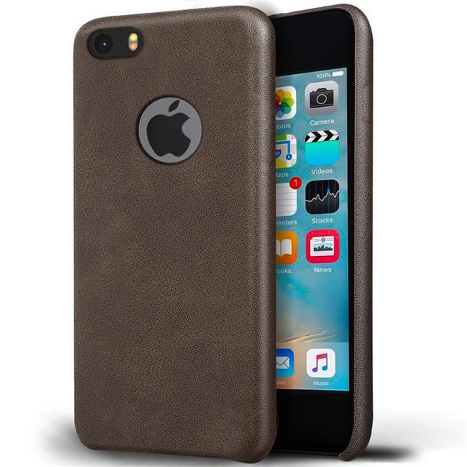 Handyhülle für Apple iPhone 5 / 5S / SE Backcover Kunstleder Case