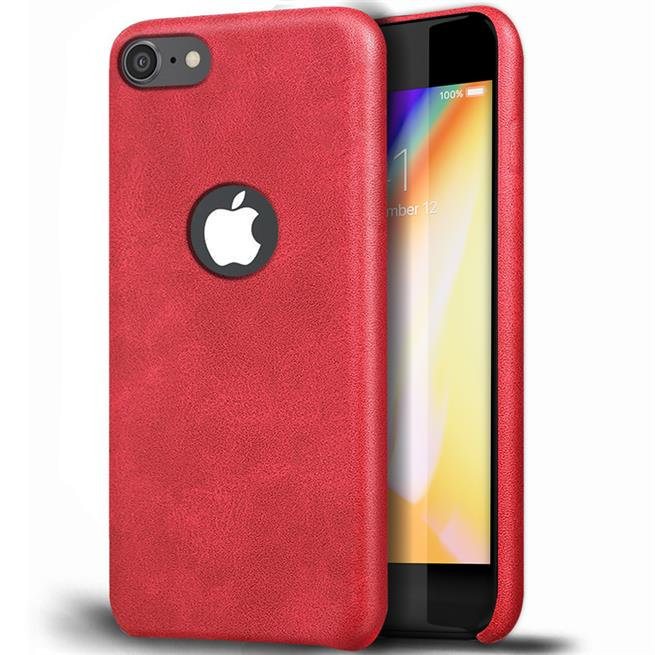 Handyhülle für Apple iPhone 8 Backcover Kunstleder Case