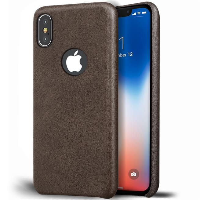 Handyhülle für Apple iPhone X / XS Backcover Kunstleder Case