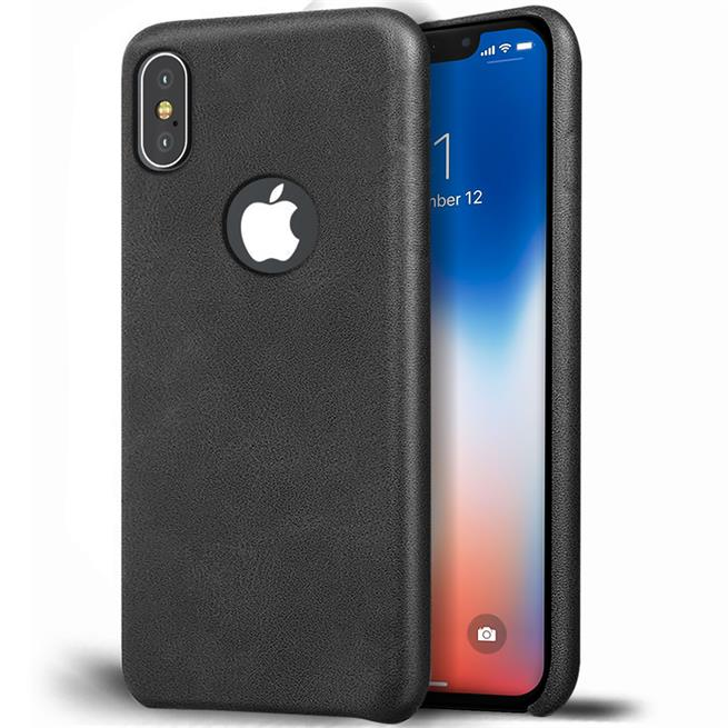 Handyhülle für Apple iPhone XS Max Backcover Kunstleder Case