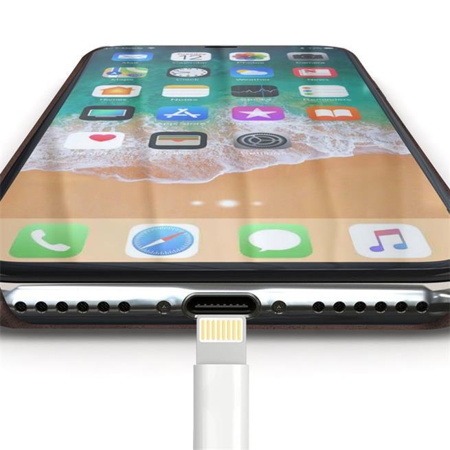 Handyhülle für Apple iPhone XR Backcover Kunstleder Case