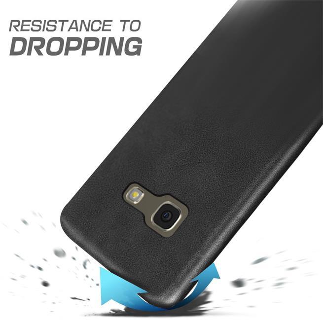 Handyhülle für Samsung Galaxy A5 2017 Backcover Kunstleder Case
