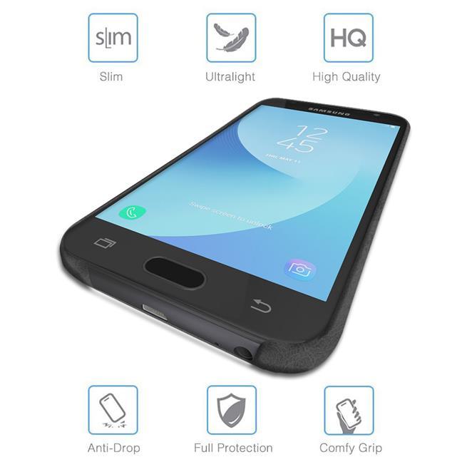 Unibody Case für Samsung Galaxy J5 2017 Handy Hülle Tasche mit PU Leder Backcover