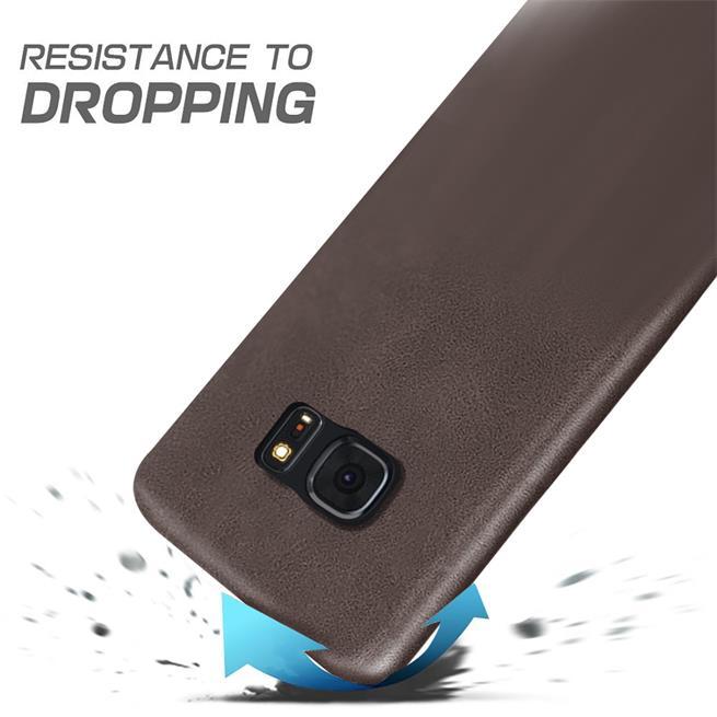 Handyhülle für Samsung Galaxy S7 Edge Backcover Kunstleder Case